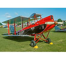 De Havilland DH.60M Metal Moth G-AAHY Photographic Print