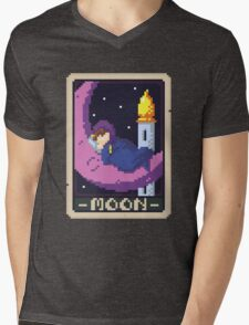 Moon Tarot - Sleep Mens V-Neck T-Shirt