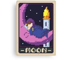 Moon Tarot - Sleep Canvas Print