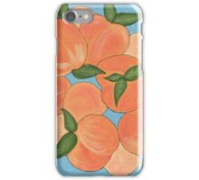 Peachy Peaches iPhone Case/Skin