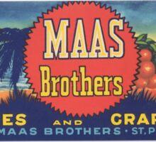 Mass Brothers logo Sticker