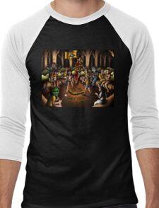 The Skin Crawling Creeps - Cropsy - Sleepaway Camp - Cannibal Holocaust - Halloween - Pet Sematary - Stephen King - Jason Voorhees - Camp Crystal Lake Men's Baseball ¾ T-Shirt