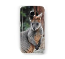 Red-necked wallaby Samsung Galaxy Case/Skin