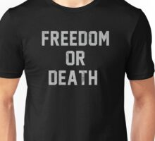 Lester Bangs - Freedom or death Unisex T-Shirt