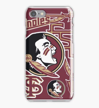 Florida State University collage iPhone Case/Skin