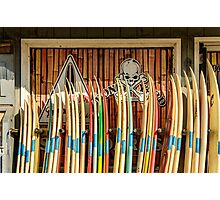 Tools of the Waves Photographic Print