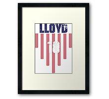 Carli Lloyd #10 | USWNT Olympic Roster Framed Print
