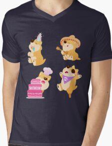 Dress-Up Shiba Set Mens V-Neck T-Shirt