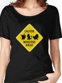 Monsters Ahead Women's Relaxed Fit T-Shirt