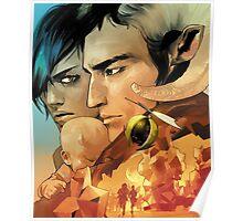 Saga By Image Comics Poster