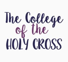 The College of the Holy Cross Kids Tee