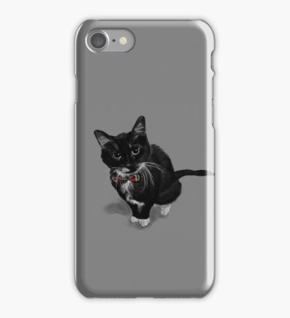 Rocket the Lovely Cat iPhone Case/Skin