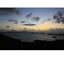 Sunset in St. John Photographic Print