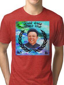 Wang Gang World Tour I Tri-blend T-Shirt