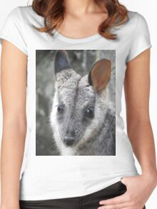 Rock Wallaby Women's Fitted Scoop T-Shirt