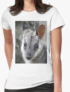 Rock Wallaby Womens Fitted T-Shirt