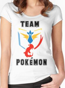 Team Pokemon Women's Fitted Scoop T-Shirt