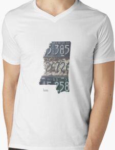 Mississippi Home Mens V-Neck T-Shirt