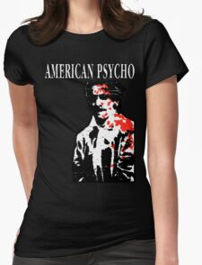 American Psycho Patrick Bateman Womens Fitted T-Shirt