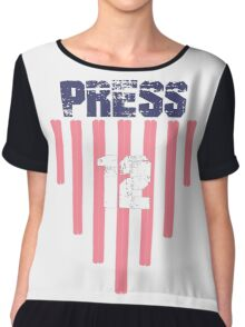 Christen Press #12 | USWNT Olympic Roster Chiffon Top