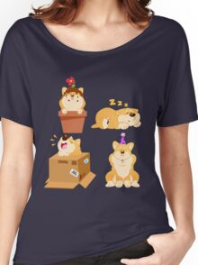 Silly Shiba Set Women's Relaxed Fit T-Shirt