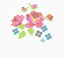 Cross Stitch Spring Unisex T-Shirt