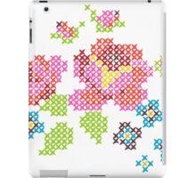 Cross Stitch Spring iPad Case/Skin