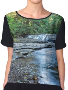 Ledge Falls, No. 1 Chiffon Top