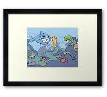 Ocean Shenanigans  Framed Print