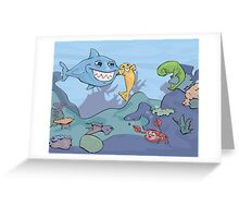 Ocean Shenanigans  Greeting Card