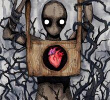 Guillotine Heart Sticker