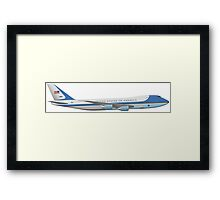 Air Force 1 Framed Print