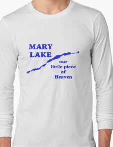 Mary Lake Our Little Piece of Heaven Long Sleeve T-Shirt