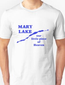 Mary Lake Our Little Piece of Heaven Unisex T-Shirt