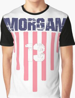 Alex Morgan #13 | USWNT Olympic Roster Graphic T-Shirt