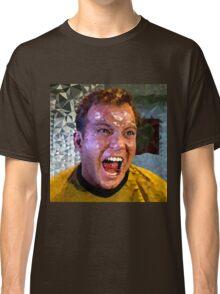 Captain Kirk Polyart Classic T-Shirt