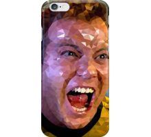 Captain Kirk Polyart iPhone Case/Skin