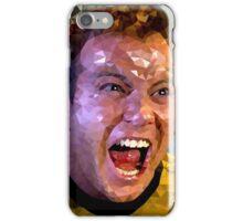 Captain Kirk Polyart iPhone Case/Skin