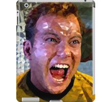 Captain Kirk Polyart iPad Case/Skin