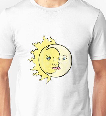 Sun and Moon Unisex T-Shirt