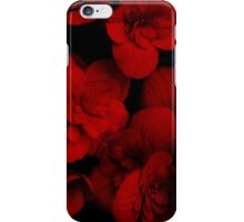 Red Begonia iPhone Case/Skin