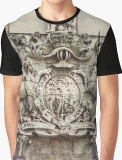 Royal Coat of Arms Graphic T-Shirt