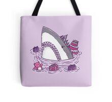 Birthday Princess Shark Tote Bag