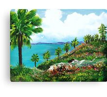 Somewhere On A Hill Top In Puerto Rico Canvas Print