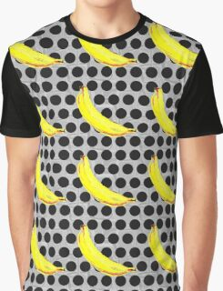 Banana Polka Dot by American Jank Brand Graphic T-Shirt