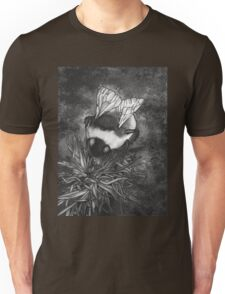 Bumble Bee On Flower Unisex T-Shirt