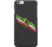 Ferrari Lover #2 [Gold - Black] iPhone Case/Skin