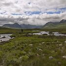 Rannoch Moor Glencoe Scotland by M.S. Photography/Art