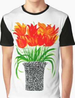 Calligraphy pot Graphic T-Shirt