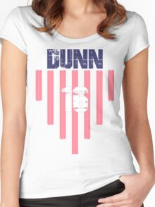 Crystal Dunn #16 | USWNT Olympic Roster Women's Fitted Scoop T-Shirt